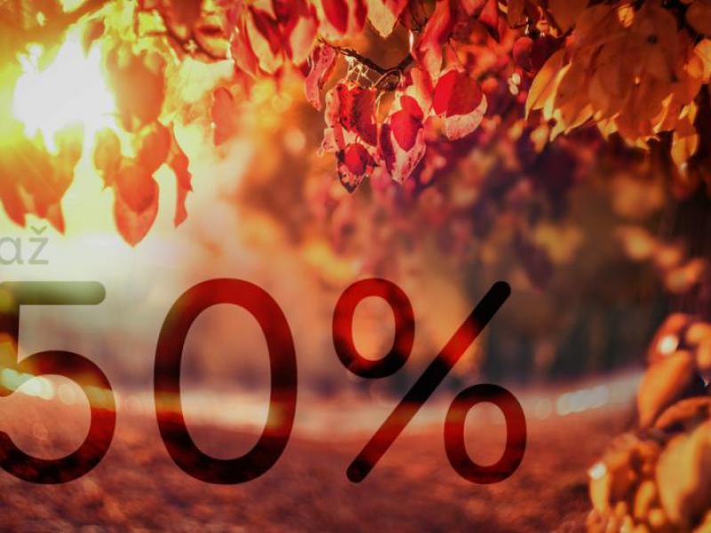 Mimoriadna zľava  až 50% na vybrané pripoistenia!
